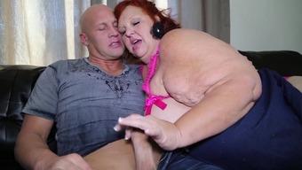 Ηλικιωμένη κυρία BBW πορνό